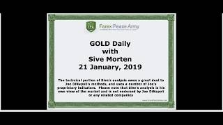 ForexPeaceArmy | Sive Morten Daily, Gold 01.21.2019