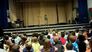 TaJuan Talent Show at Winterset Elementary
