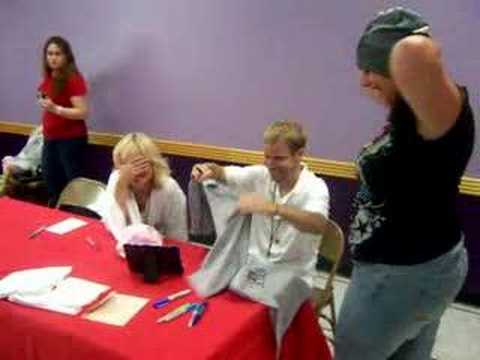 Me meeting Brian and Leighanne Littrell.