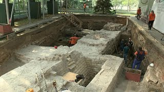 Сенсационные находки археологов на территории Кремля.