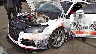 1300 HP Audi TT RS Don Octane - 310 km/h Top Speed - Brutal Accelerations And Sound