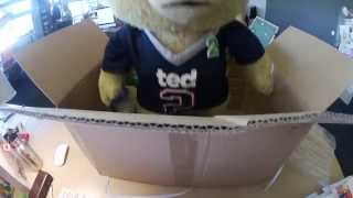 Unboxing Ted 2 Promotional Material