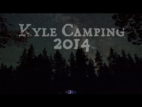 2014 Kyle Camping Trip - Cloud Peak Wilderness, Bighorn Mountains, Wyoming - GoPro Timelapse in 4k