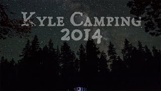 2014 Kyle Camping Trip - Cloud Peak Wilderness, Bighorn Mountains, Wyoming - GoPro Timelapse in 4k
