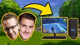 ZMIANA CO FRAGA! CHALLENGE Z IZAKIEM! - FORTNITE