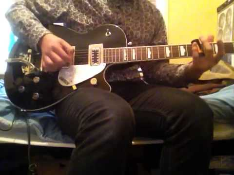 the beatles for you blue slide guitar cover