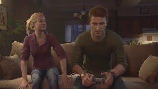 Crash Bandicoot in Uncharted 4, Nathan Drake plays PlayStation…