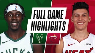 Game Recap: Bucks 144, Heat 97