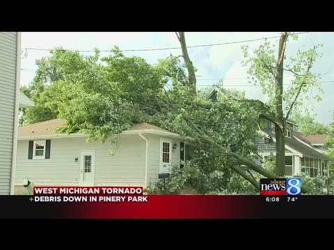 Storm brings as many as 4 tornadoes to West Michigan