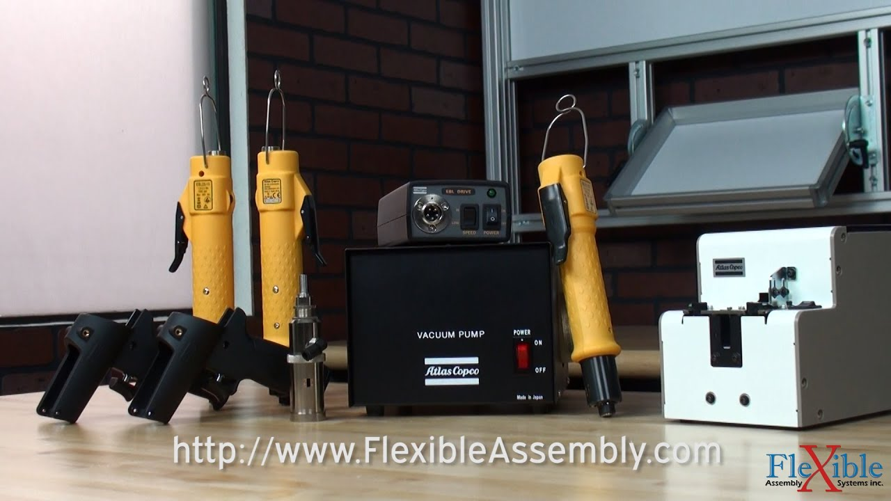 Atlas Copco Ebl 12 Electric Screwdriver Torque Wrenches 0,2-1,2 NM Balancer