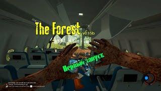 The Forest Первый запуск игры