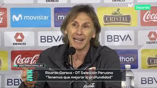 Ricardo Gareca y su análisis de la derrota de Perú 1-0 ante Uruguay | CONFERENCIA POST PARTIDO