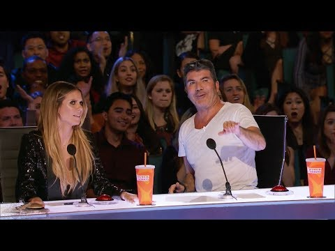 America's Got Talent 2017 Jonathan Rinny Surprises Mother-in-law Full Intro & Audition S12E06