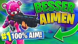 100% BESSERES AIM IN FORTNITE! | How to get better AIM in Fortnite! | Ps4/Pc/Xbox