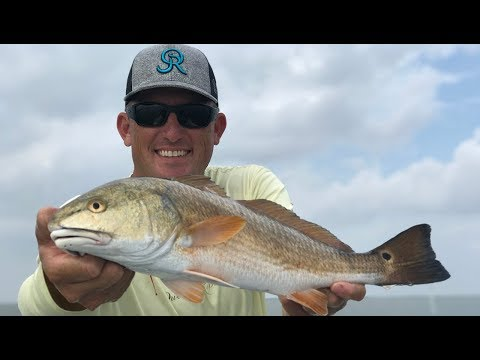 Redfish On The Half Shell {Catch Clean Cook} Baffin Bay Texas