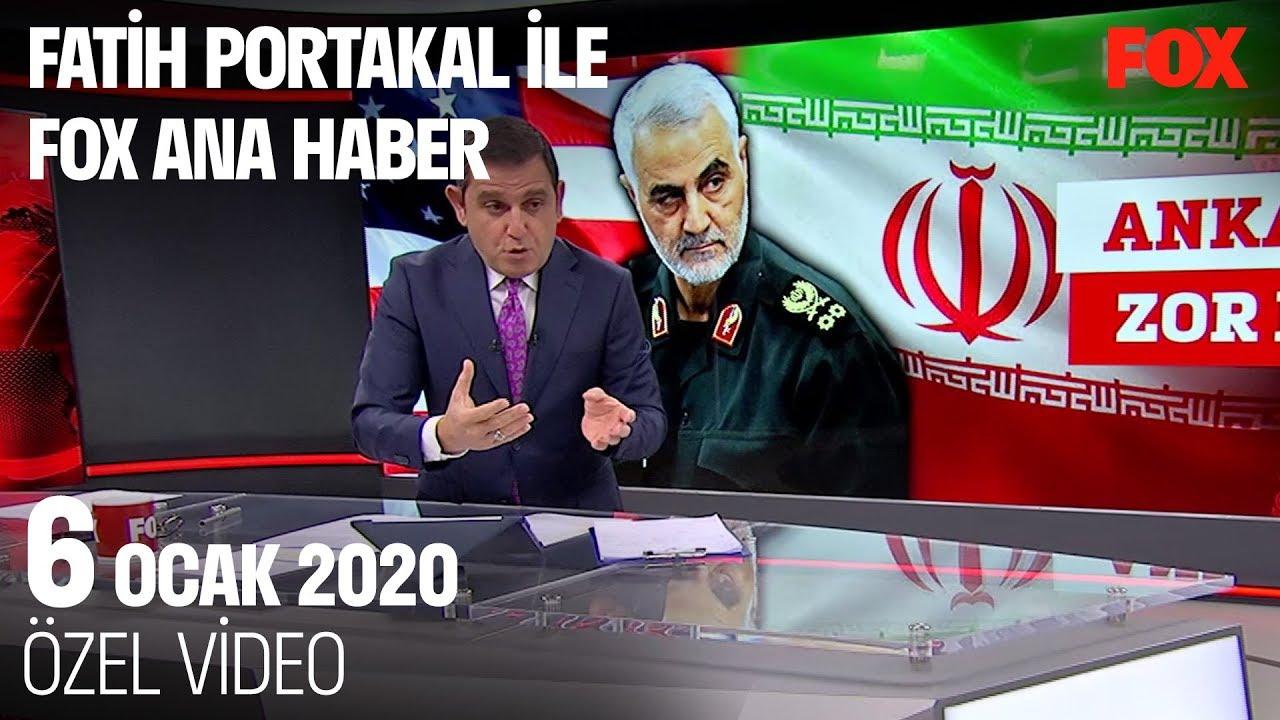 Erdoğan'dan suikast yorumu... 6 Ocak 2020 Fatih Portakal ile FOX Ana Haber