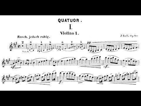 Joachim Raff - String Quartet No. 2, Op. 90 (1857)