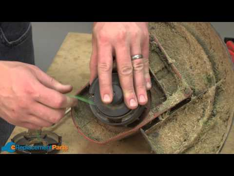 How To Replace The Spool On A Toro 51443 String Trimmer Part 73 8190