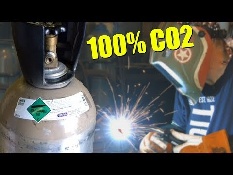 🔥 MIG Welding with 100% CO2