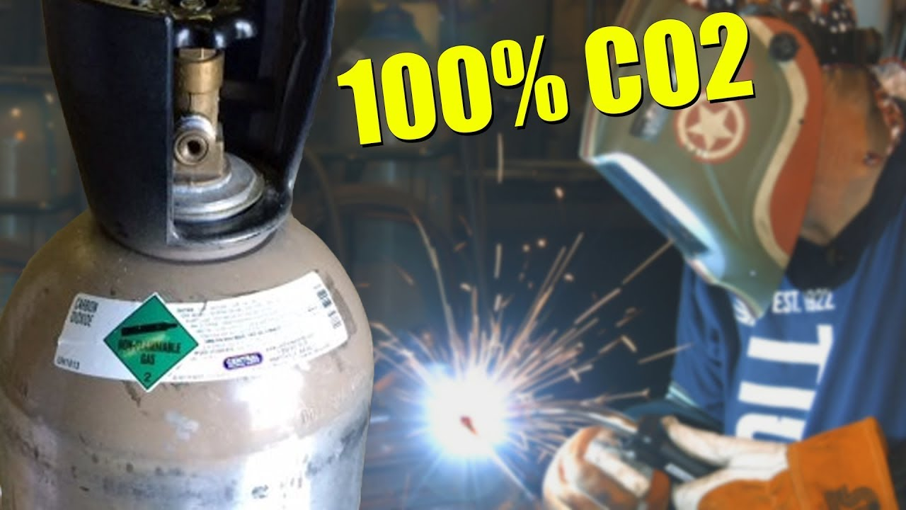 Mig Welding With 100 Co2 Youtube