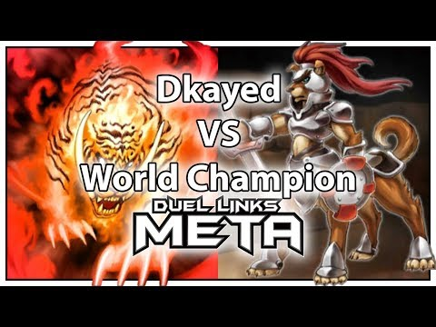 Dkayed vs World Champion - With NEW Hazy Flame [Yu-Gi-Oh! Duel Links]