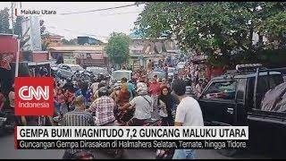 Download Video Gempa Bumi Magnitudo 7,2 Guncang Maluku Utara MP3 3GP MP4
