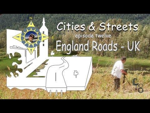 England Roads, UK: Cities & Streets: episode #12