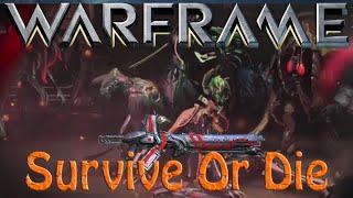 Warframe - Survive Or Die for a gorgon wraith