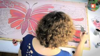 Curso online de Pintura em seda: criando asas | eduK.com.br