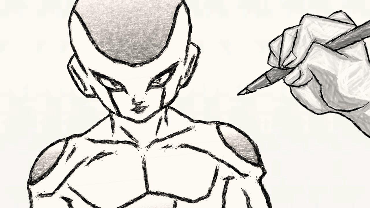 Como Desenhar O Freeza De Dragon Ball Z Youtube