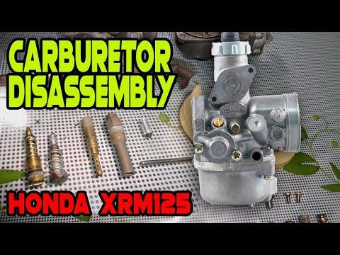 How to Disassembly a Carburetor | Honda XRM125