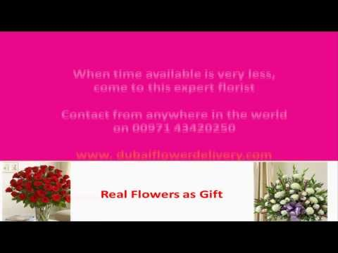 Send Flowers Dubai with the Help of Expert
