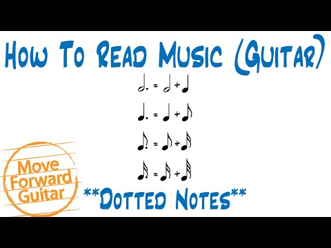 How to Read Music (Guitar) - Dotted Notes
