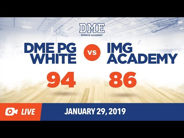 DME PG White vs. IMG
