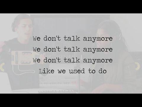 We Don't Talk Anymore - Charlie Puth & Selena Gomez (Alex Aiono & Diamond White Cover) LYRICS