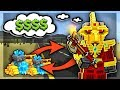 Pixel Gun 3D RICHEST Player! (All GOLD Weapon Skins Gameplay)