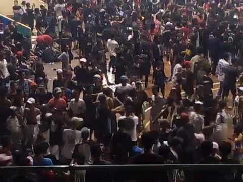 insiden anak anak HC gor lokasari gudang bising 27 November 2016