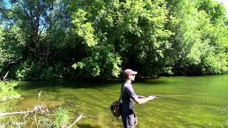 Лето отдых на рыбалке спиннинг