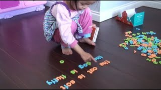 Children Learning Reading: 3 Year Reading Progress - From Age 2.11 to 5.11