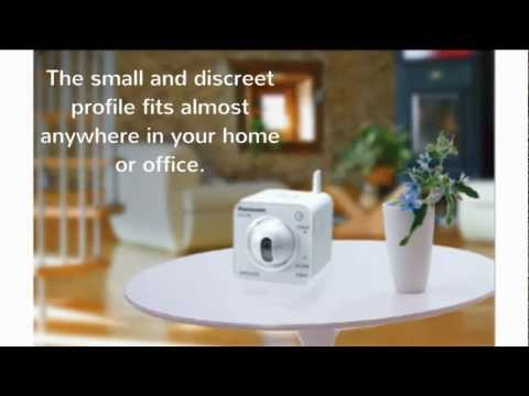Panasonic BL-C230A Wireless IP Camera For Security