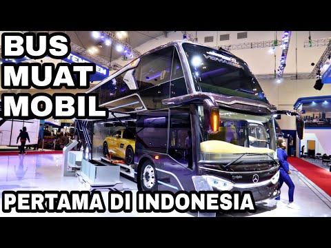 (GIIAS 2019) Review Bus Double Decker AdiPutro Jetbus 3 SDD Voyager   Bus Yang Bisa Bawa Mobil!