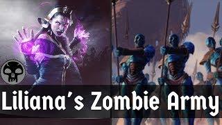 LILIANA DE L'ARMÉE DE ZOMBIES!! Zombie Pont (Liliana Dreadhorde Général + Dreadhorde Invasion) | MTG Arena