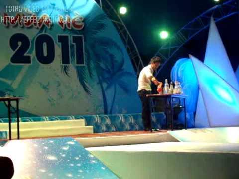 """Thanh Hùng OQ BAR. Giải Nhất cuộc thi """"Trình diễn Bartender 2011"""""""