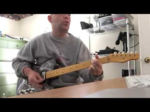 End of the line - Traveling Wilburys solo cover - Crook Telecaster ...
