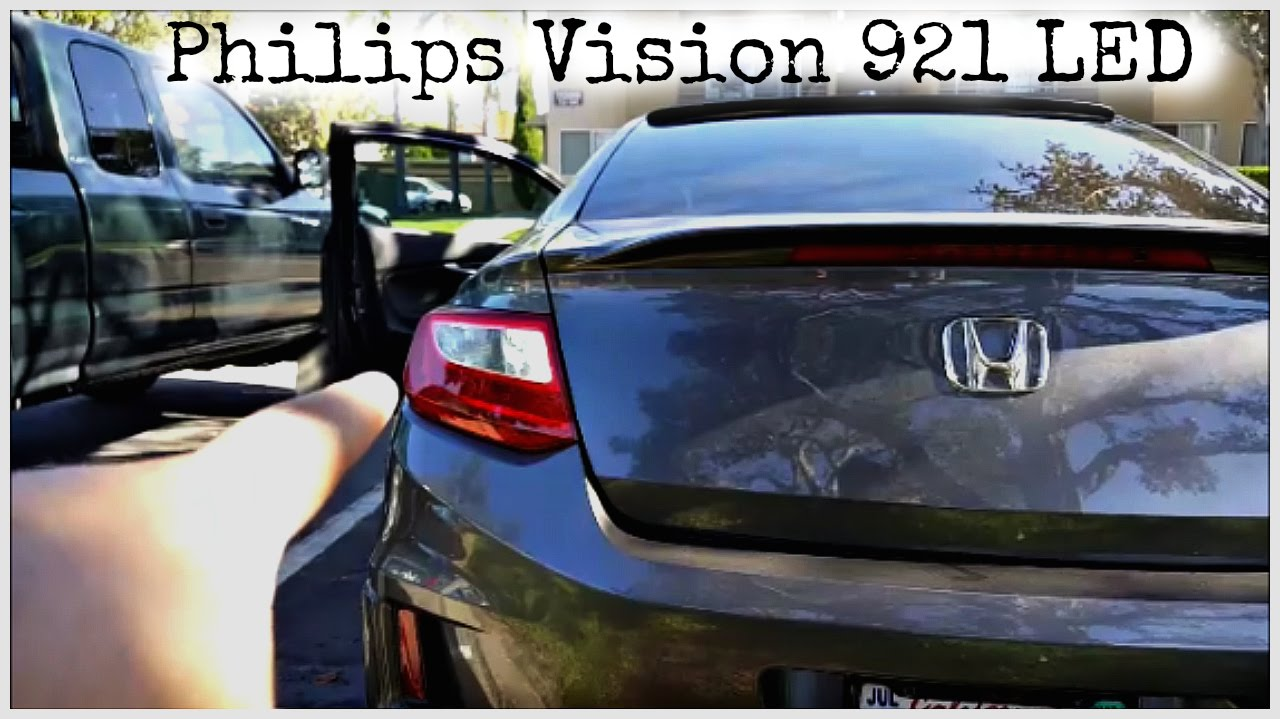 Product Review and Installation:  Philips 921 Bright White Vision LED Back-up Reverse LED light
