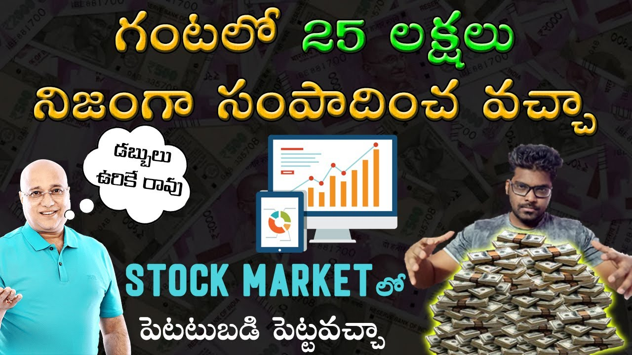 How to Invest in the Stock Market in Telugu | What is Stock Market in Telugu