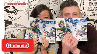 Let's Read the Splatoon Manga + Giveaway – Nintendo Minute