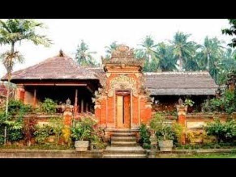 Desain Rumah Adat Bali