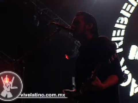 Presentación Black Rebel Motorcycle Club en el Vive Latino 2008