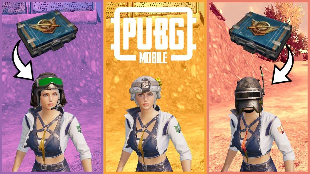 KASK DESENİ ÇIKARMAK - PUBG Mobile Sandık Açılımı